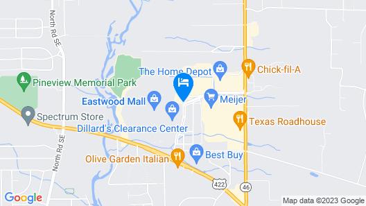 Hampton Inn & Suites Niles/Warren, OH Map