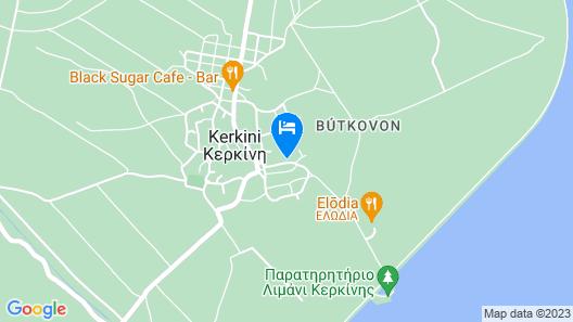 Oikoperiigitis Hotel Map