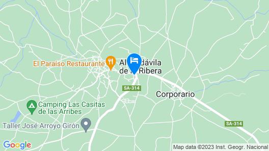 Hotel Rural La Jara  Map