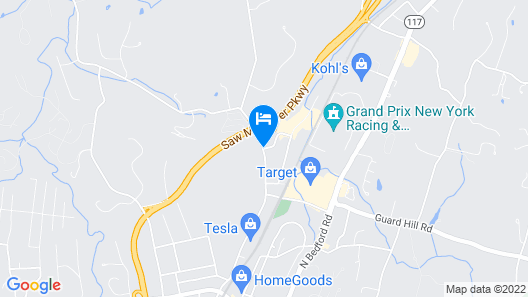 Holiday Inn Mt. Kisco, an IHG Hotel Map