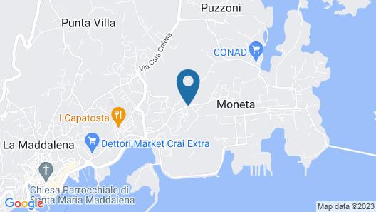 Guest House Villabianca Map