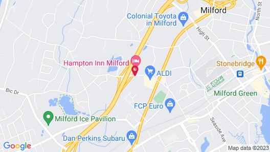 Hampton Inn Milford Map