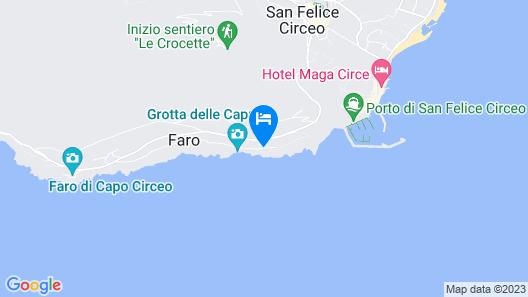 Villa Punta Rossa - WR Apartments Map