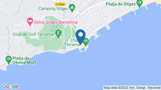 ME Sitges Terramar Map