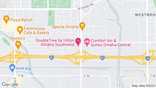 DoubleTree by Hilton Omaha Southwest Map