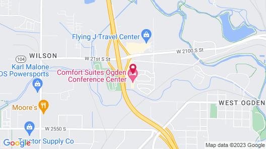 Comfort Suites Ogden Conference Center Map