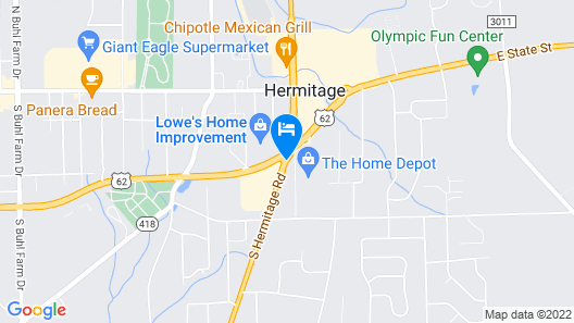 Royal Motel Map