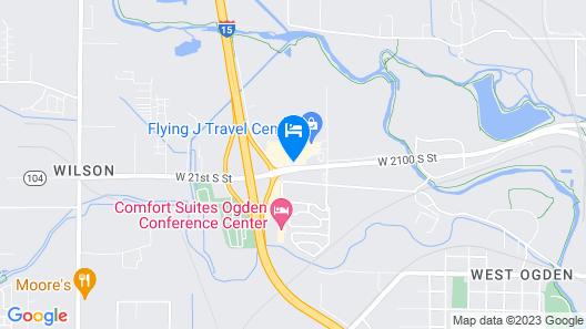 Motel 6 Ogden, UT - 21st Street Map