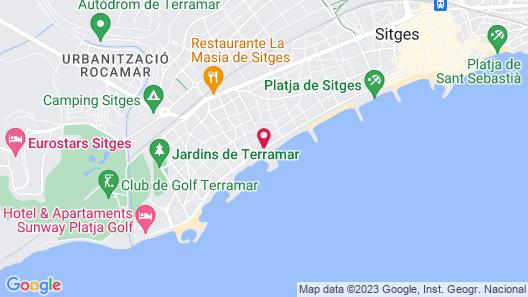 Hotel Subur Maritim Map