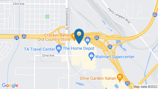 Red Roof Inn & Suites Omaha - Council Bluffs Map