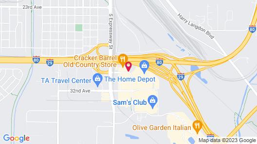 Fairfield Inn & Suites Omaha East/Council Bluffs, IA Map