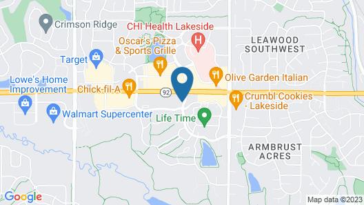Staybridge Suites Omaha West, an IHG Hotel Map