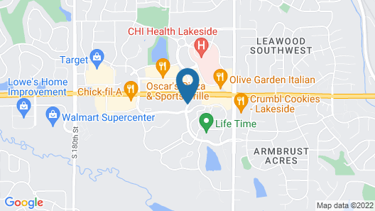 Staybridge Suites Omaha West Map