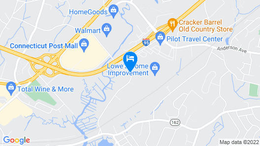 Holiday Inn Express & Suites Milford, an IHG Hotel Map
