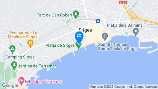 Hotel Calipolis Map