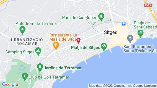 Sunway Amapola Apartamentos Map