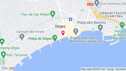 Sitges Group Ocean Map