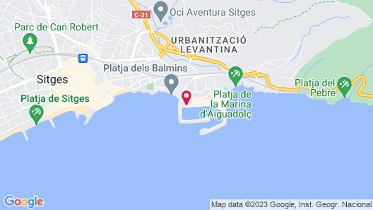 Hotel Port Sitges Map