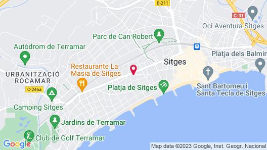 Sunway San Jorge Apartments Map