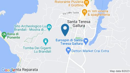Residenza Desideri di Gallura Map