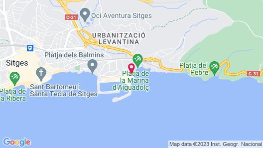 Hotel Estela Barcelona Map