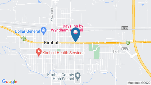Days Inn by Wyndham Kimball Map