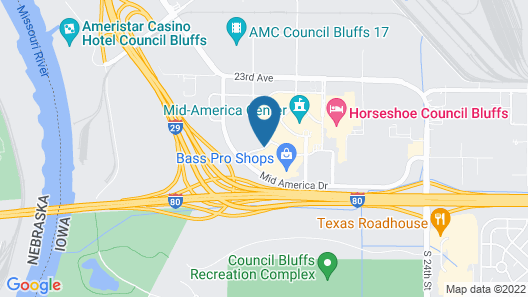 SpringHill Suites by Marriott Omaha East/Council Bluffs, IA Map