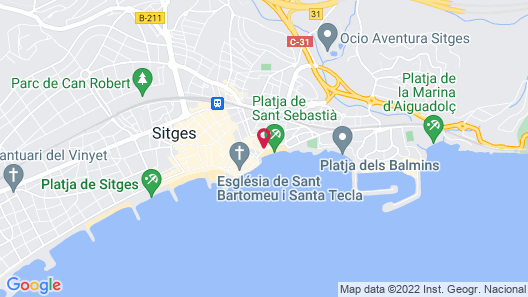 Sitges Group Beach Dreams Map