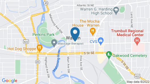 Best Western Park Hotel Map