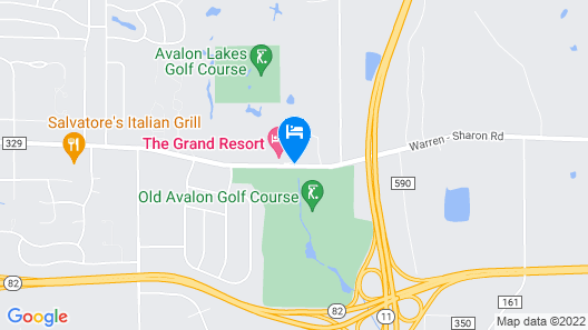 The Grand Resort Map