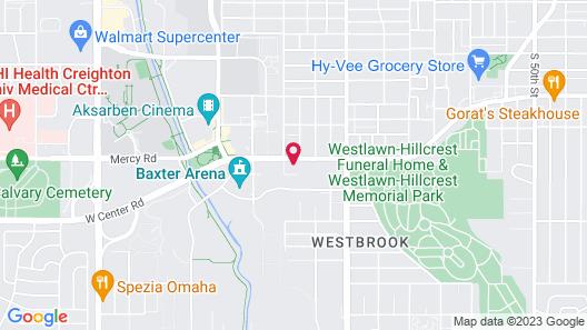 Aloft Omaha Aksarben Village Map