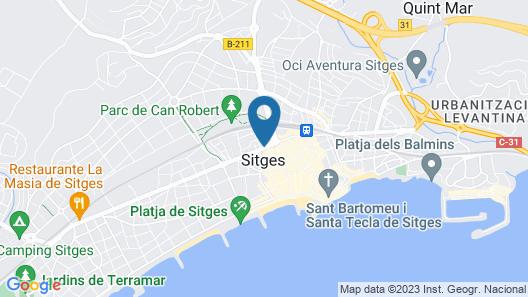 Hotel El Cid Map