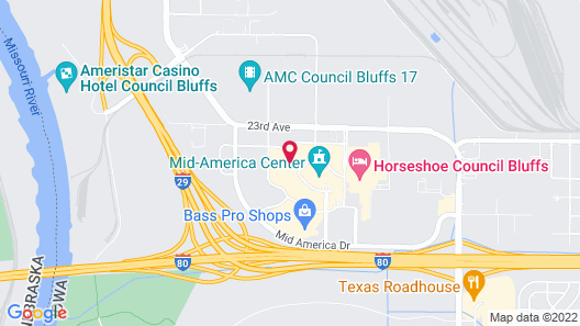 Country Inn & Suites by Radisson, Council Bluffs, IA Map