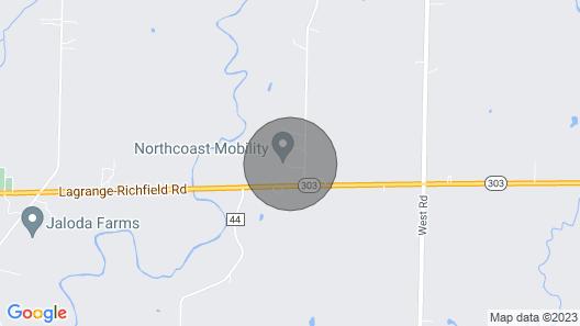 Aunt Connie's Cottage Map