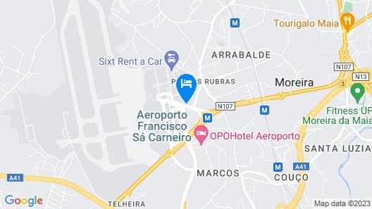 Solar Antigo Porto Aeroporto Map