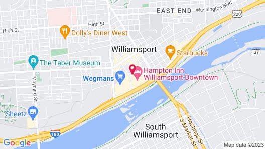 Residence Inn by Marriott Williamsport Map