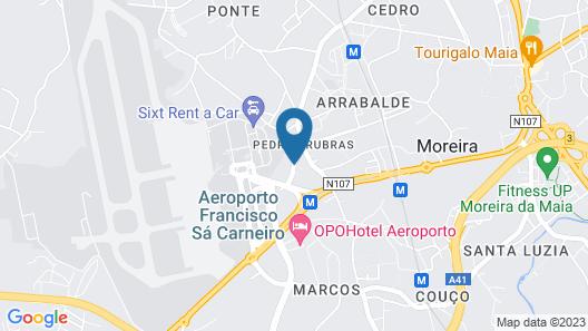 Hotel Aeroporto Map