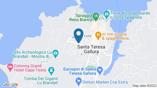 Residence I Mirti Bianchi Map