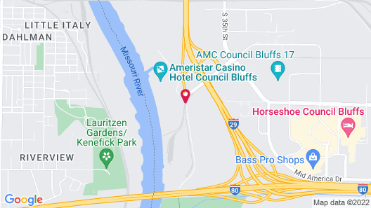 Holiday Inn Hotel & Suites Council Bluffs I-29, an IHG Hotel Map
