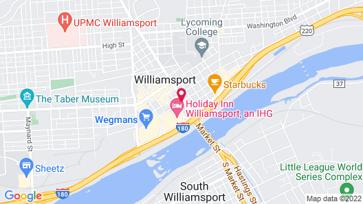 TownePlace Suites Williamsport Map