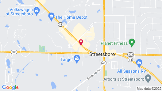 Motel 6 Streetsboro, OH Map
