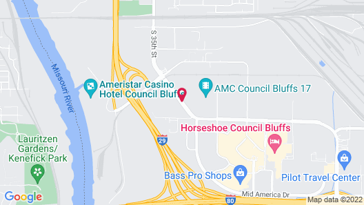My Place Hotel-Council Bluffs/Omaha East, IA Map