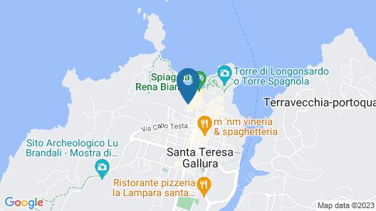 Hotel Corallaro Map