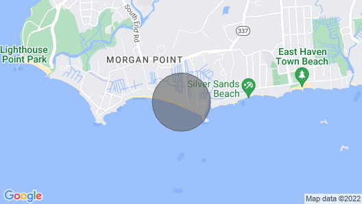 Private Beach Perfect Destination Vacation or Connecticut Staycation! Map