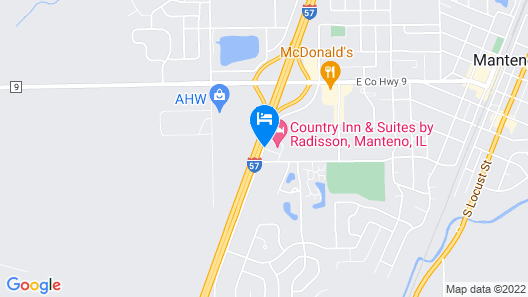 Country Inn & Suites by Radisson, Manteno, IL Map