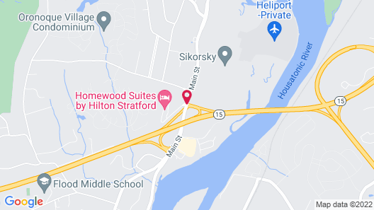 Homewood Suites by Hilton Stratford Map