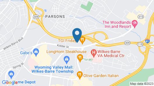 Host Inn All Suites Map