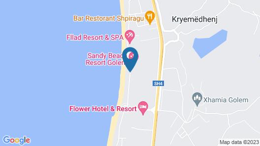 Porta Kavalja Resort Map