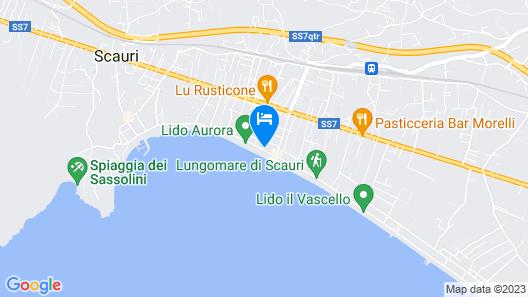 Hotel Aurora Map