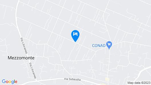 La cesa Case Vacanza Map